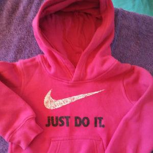 Toddler Girls Nike Hooded Sweatshirt